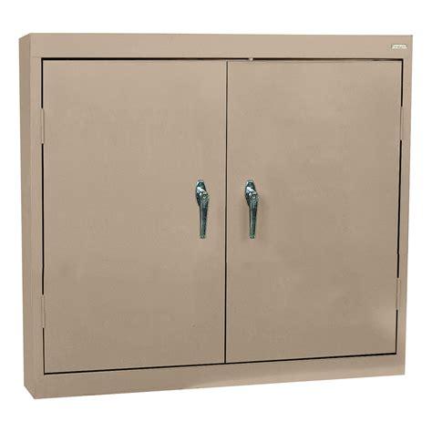 Metal Wall Cabinet by Sandusky Welded Steel Wall Cabinet Solid Doors 36in
