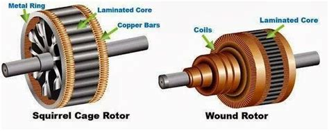 induction motor rotor fed comparison between squirrel cage rotor and wound rotor ee figures comparison between squirrel