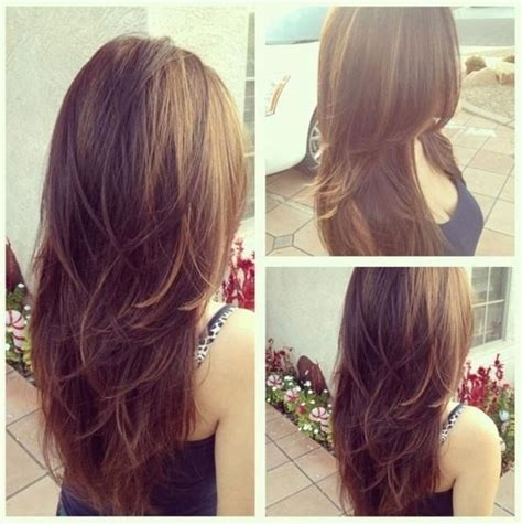 long layered hair back view long hair back view layered www pixshark com images