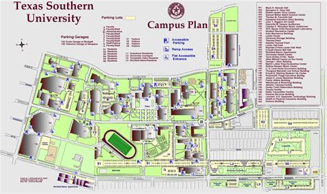 texas southern university map tsu cus map adriftskateshop
