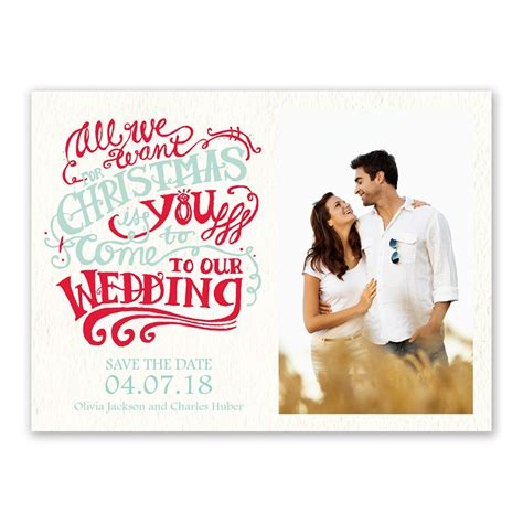 Save The Date by Wish Card Save The Date Invitations By
