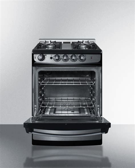 Broiler Drawer Gas Oven by Pro246ssrt Summit 24 Quot Gas Range Broiler Drawer Modern