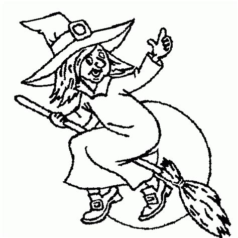halloween coloring pages witch on broom halloween coloring coloring free halloween witch