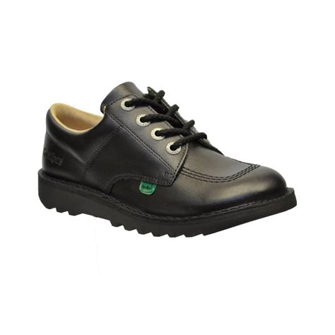 Kickers Boot Original Uk 42 kickers kick lo youth lthr black gd1 z6 kf0001003