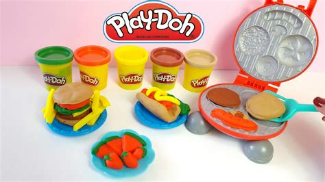 Doh Barbeque Set play doh burger barbecue play set grill play doh
