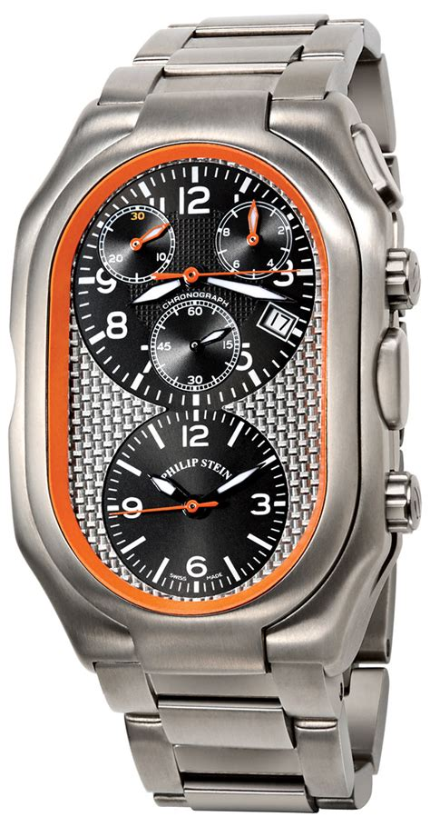 philip stein prestige chronograph s model 13ti