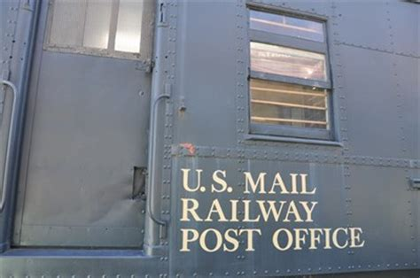 Escondido Post Office by Us Mail Railway Post Office Car Escondido California