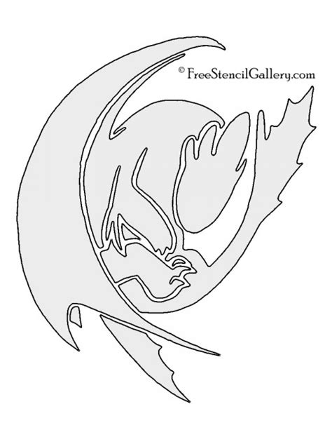 printable pumpkin stencils dragon how to train your dragon toothless stencil free