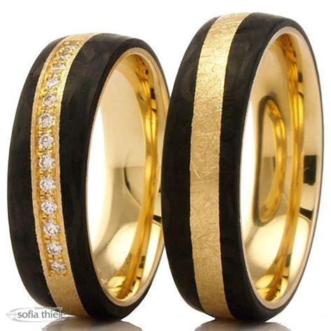 Trauringe Carbon Gold by Gold K 252 Sst Carbon Fischer Trauringe 23 01360 060