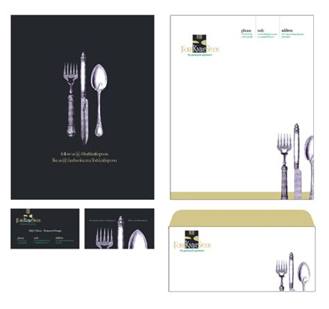 restaurant letterhead templates free free 3 photoshop corporate identity templates for