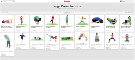 childrens yoga poses printable pin by jolene saupique on preschool toddlers pinterest