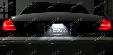 sylvania led license plate light mini bulb universal fit bolt on 12 lights led license plate lights l