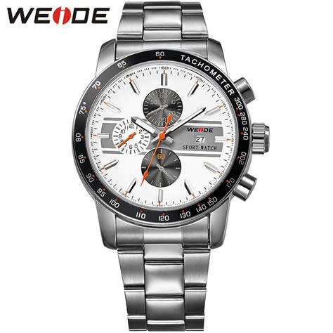 Special Weide Japan Quartz Stainless Sports 30m Water weide special offer sports analog tachometer 30m