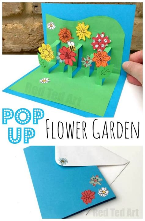 how to make a 3d flower pop up greeting card 3d flower card diy pop up cards for happy