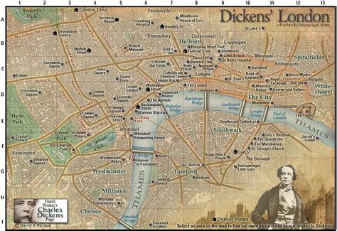where dickens lived travel between the pages david perdue s charles dickens page dickens map