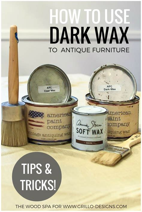 furniture wax over white paint how to use dark wax to antique furniture grillo designs