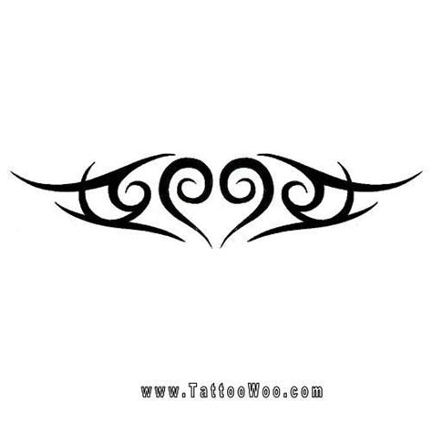 heart tribal lower back tattoos image result for http www tattoowoo images