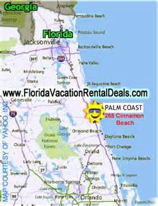 map of florida palm coast palm coast fl