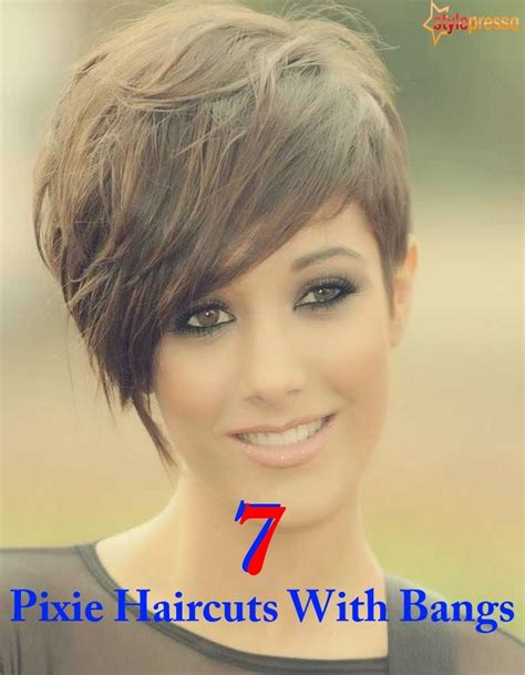 pictures of pixiehaircuts with bangs 7 pixie haircuts with bangs style presso