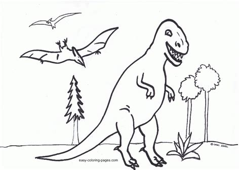 dinosaur coloring pages easy easy dinosaur coloring pages coloring home