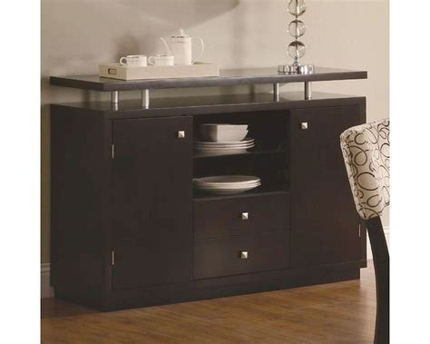 coaster furniture 103165 libby 2 door dining server buffet in cappuccino homeclick com coaster libby dining server buffet co 103165