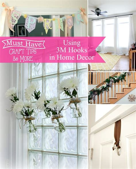 must have home items a glimpse inside mhct m home decor 3m command hooks
