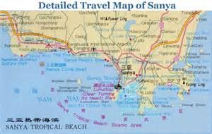 map of by city detailed travel city maps of sanya sanya map 2014