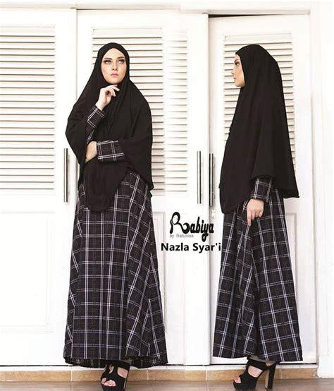 Gamis Meisya Navy Syar I beli baju muslim disini banyak pilihan pusat grosir baju