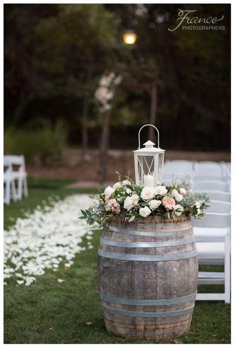 rustic country wine barrel wedding ideas page