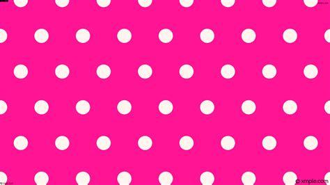 wallpaper polka pink wallpaper white pink polka dots hexagon ff1493 fff5ee
