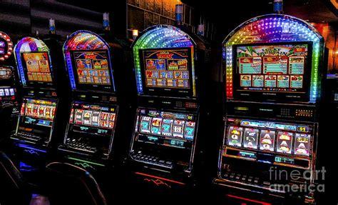 harrahs cherokee casino resort  hotel slots photograph