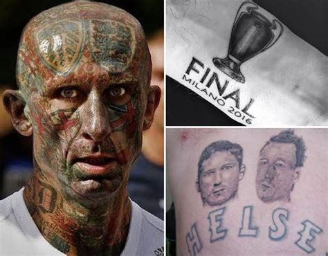 football tattoo the worst football tattoos sport galleries pics