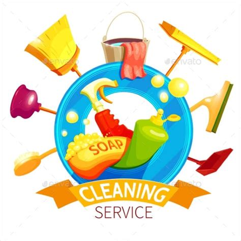 9 Exles Of Cleaning Logos Free Premium Templates Cleaning Services Logo Templates