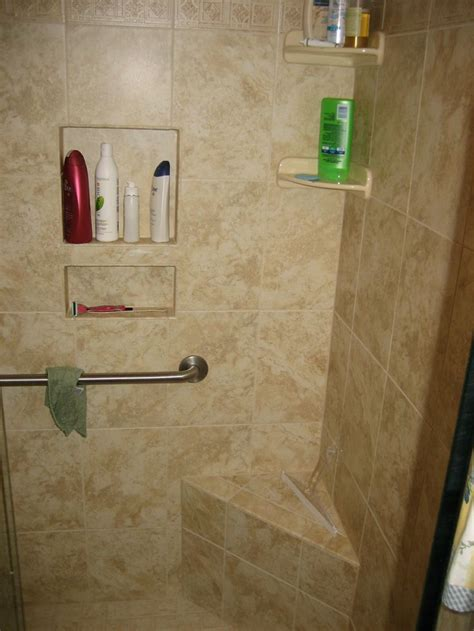custom shower stalls with seat 17 best showers images on