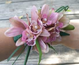 orchid wrist corsage orchid wrist corsage prom and floral jewelry