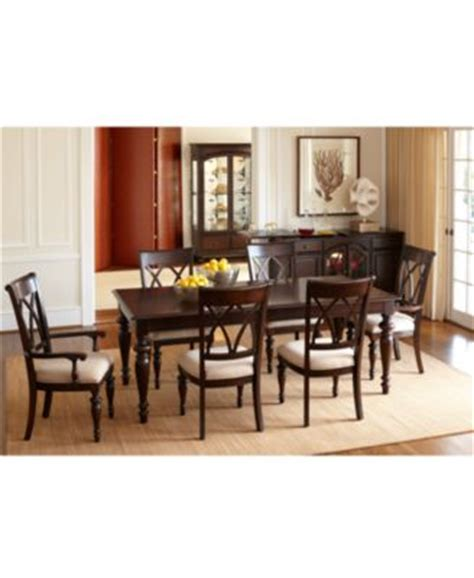 bradford dining room furniture collection bradford 7 piece dining room furniture set furniture macy s