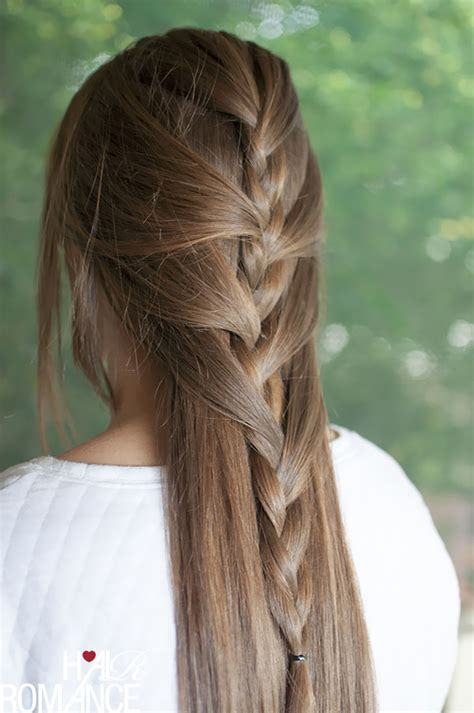 Hairstyles With Regular Braids | swept away try this sweeping half french braid tutorial