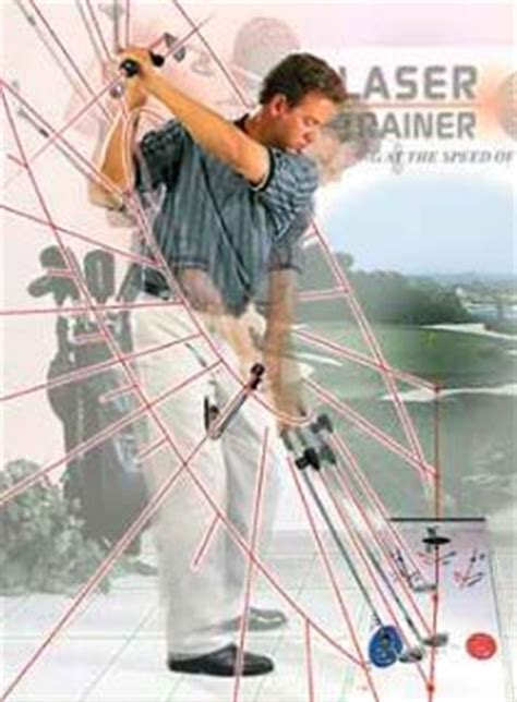 laser golf swing trainer butch harmon s laser trainer