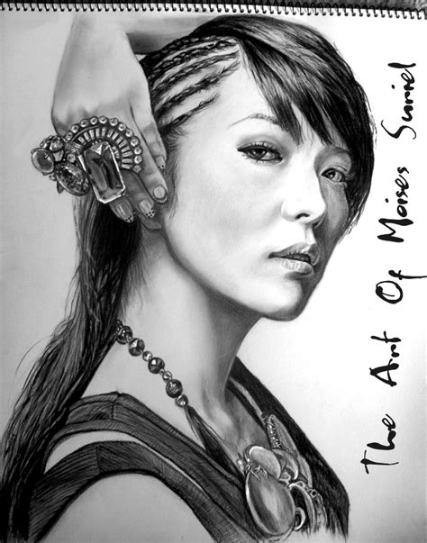Kpop Drawing by Boa Kwon Kpop Drawing By Moisessurielart On Deviantart