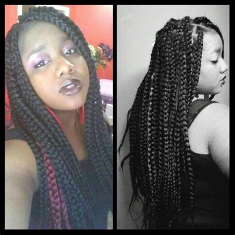 poetic braids with super jumbo hair jumbo poetic justice braids outfit ideas pinterest