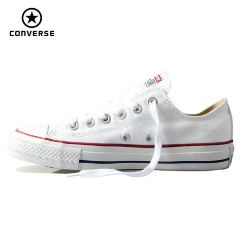 Converse Low Clasic List Merah aliexpress buy original converse classic all canvas shoes and sneakers low