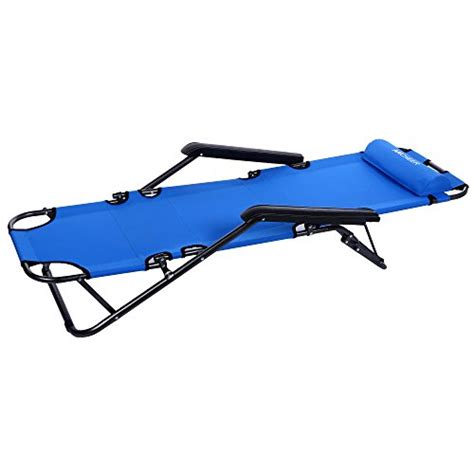 portable chaise lounge ancheer chaise lounge folding lounge chair beach chaise
