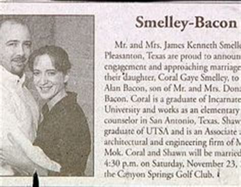 wedding announcement last names wedding announcements in the newspaper