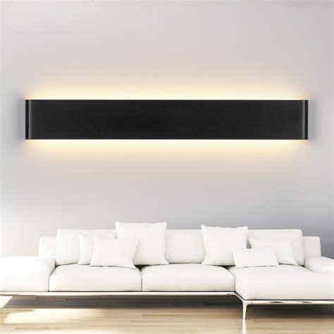 bedroom wall light modern style 30w 91cm long led restroom bathroom bedroom wall l wall lights 85v 260v ac