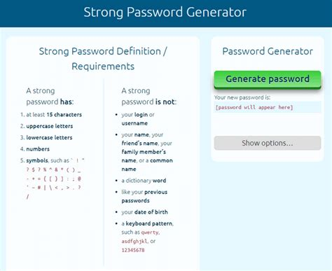 vista pe password reset 13 generators to make passwords so tough you ll forget them
