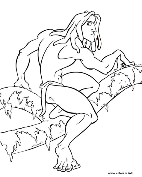 012gr tarzan printable coloring pages for kids