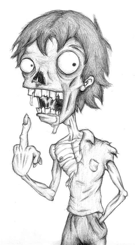 Drawing Zombies by By Marciswierd32 On Deviantart