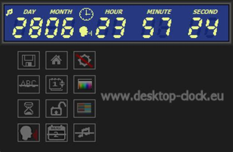 Desk Top Timer by Digital Clock And Countdown Ticker