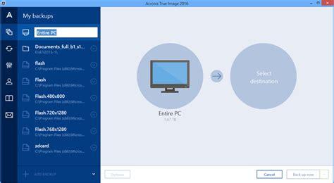 backup image acronis true image 2016 beta adds mobile backup try