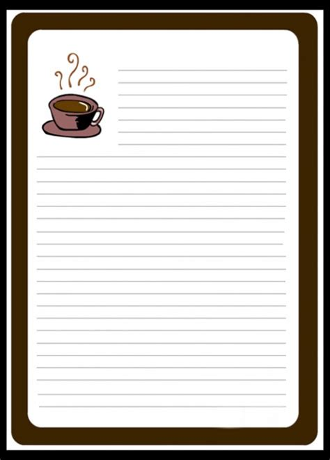 free notepad template notepad template clipart best